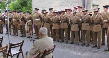 Les soldats de la 3ème division Britannique