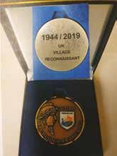 Coffret Médaille communale