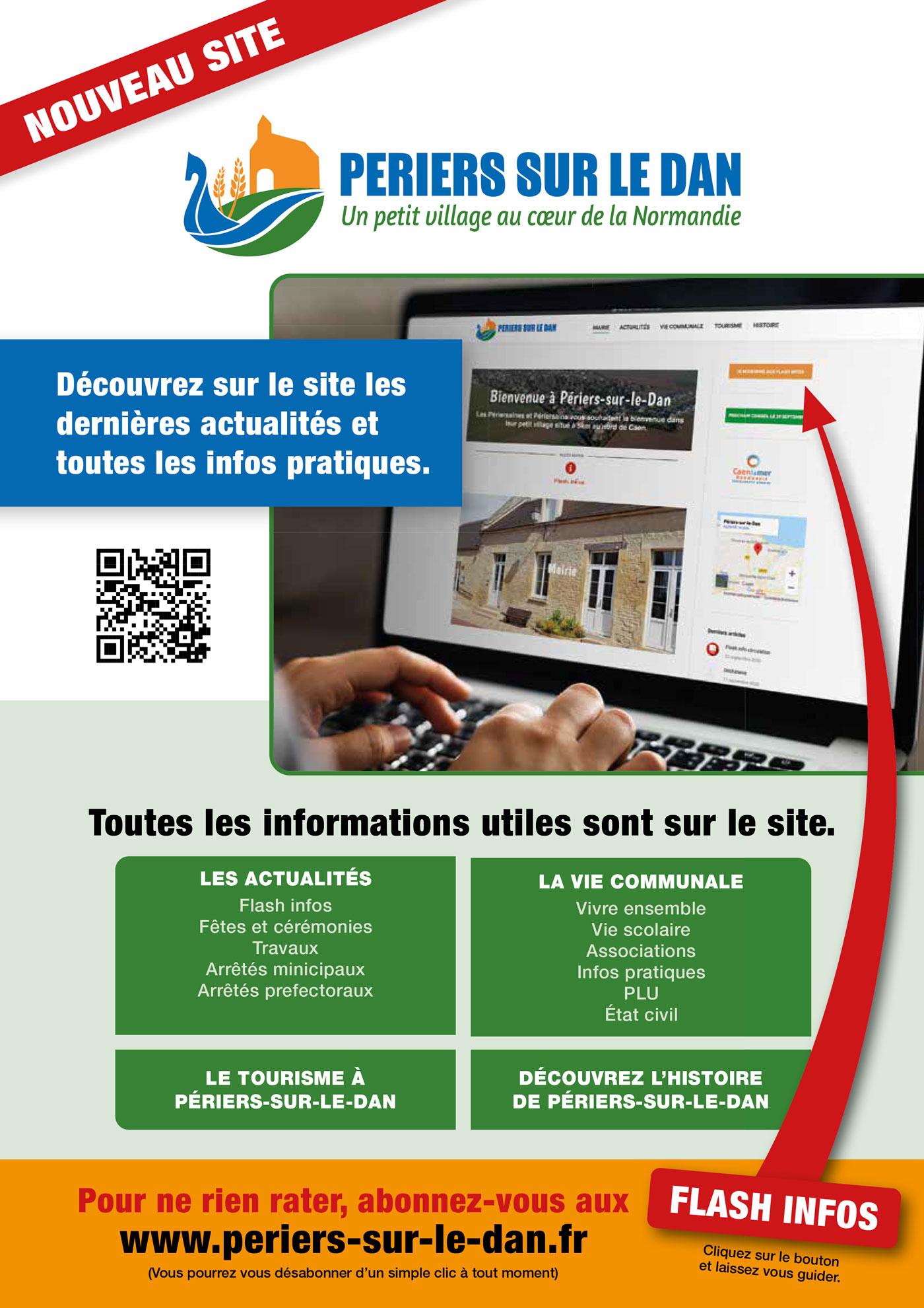 Nouveau site Périers-sur-le-Dan